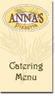 Apex, NC | Catering Menu | Anna's Pizzeria